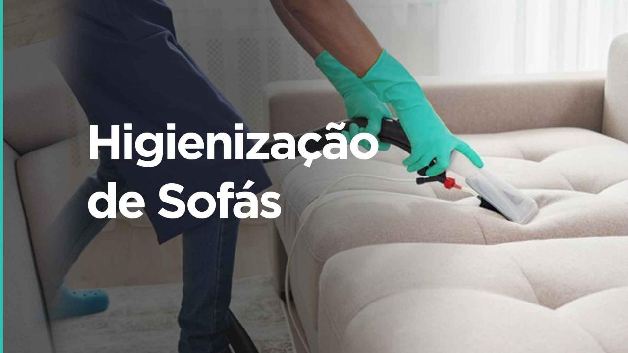 Higienização de sofás em Jardimda Glória
